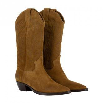 Lemaré Texan ankle boots Obuwie Brązowy Dorośli Kobiety Rozmiar: 35