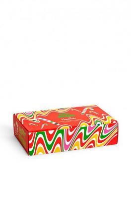 Happy Socks - Skarpetki Psychedelic Candy Can (4-pack)