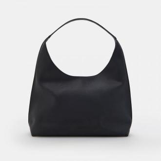 Mohito - Półokrągła torebka na ramię - Czarny