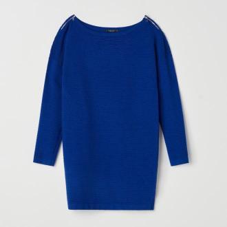 Mohito - Tunika z wiskozą - Niebieski