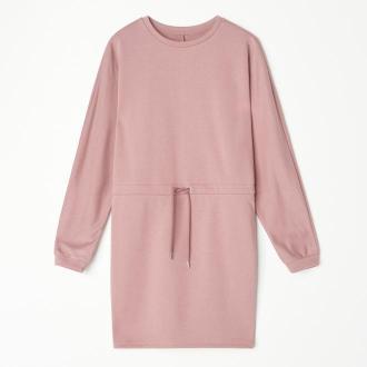 Mohito - Dresowa sukienka - Różowy