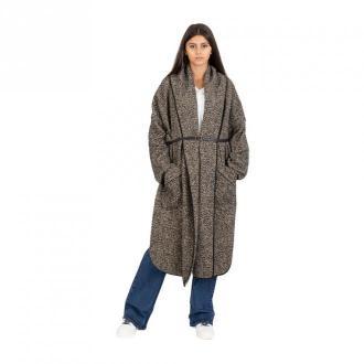 Over herringbone coat