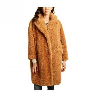 Coat 9010 faux fur oversize