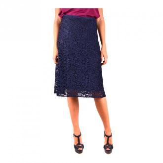 Miu Miu Skirt Spódnice Niebieski Dorośli Kobiety Rozmiar: 42 IT