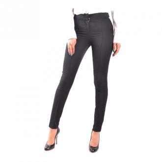 Armani Jeans Trousers Spodnie Czarny Dorośli Kobiety Rozmiar: 38 IT