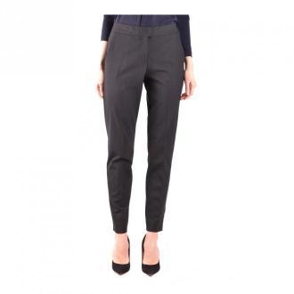 Armani Jeans Trousers Spodnie Czarny Dorośli Kobiety Rozmiar: 46 IT