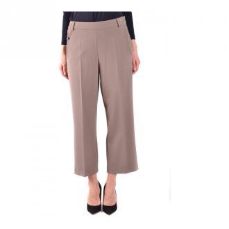 Armani Jeans Trousers Spodnie Brązowy Dorośli Kobiety Rozmiar: 38 IT