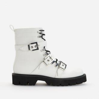 Reserved - Białe botki - Biały
