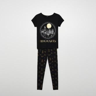 Cropp - Dwuczęściowa piżama Harry Potter - Czarny