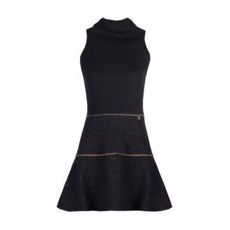 Patrizia Pepe Sukienka Sukienki Czarny Dorośli Kobiety Rozmiar: M - 38
