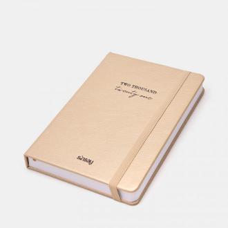 Sinsay - Kalendarz książkowy 2021 - Kremowy