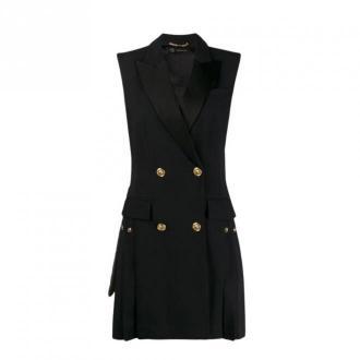Versace Sukienka bez rękawów Sukienki Czarny Dorośli Kobiety Rozmiar: