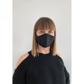 Echo Maska ochronna - profilowana damska czarna z kieszonką Akcesoria