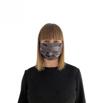 Echo Maska ochronna - fioletowe moro Akcesoria Fioletowy Dorośli