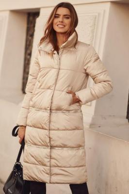 Pikowana kurtka 3w1 beżowa 82080