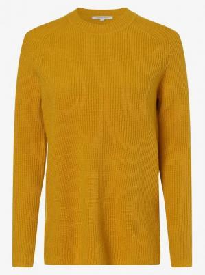 Apriori - Damski sweter z wełny merino, żółty