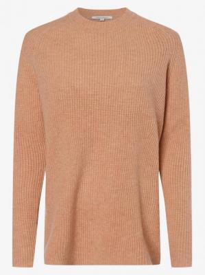 Apriori - Damski sweter z wełny merino, różowy