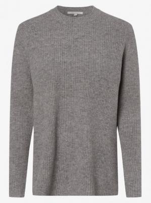 Apriori - Damski sweter z wełny merino, szary