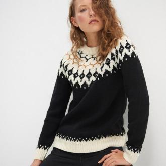 House - Żakardowy sweter - Wielobarwny