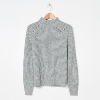 House - Sweter z półgolfem - Szary
