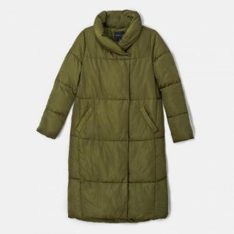 Mohito - Ocieplany płaszcz Eco Aware - Zielony