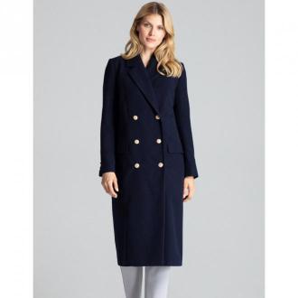 Figl Płaszcz M681 Płaszcze Niebieski Dorośli Kobiety Rozmiar: S