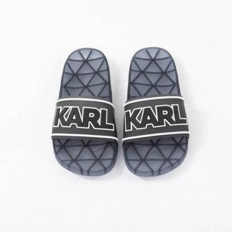 Karl Lagerfeld Klapki Obuwie Czarny Dorośli Kobiety Rozmiar: 38