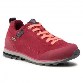 Trekkingi CMP - Elettra Low Wmn Hiking Shoe Wp 38Q4616 Goji/Red Fluo WWHF