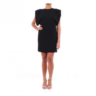 Versace A86386A208595 krótka sukienka Sukienki Czarny Dorośli Kobiety