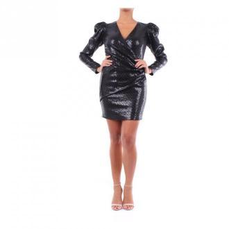 Versace A85718A232508 krótka sukienka Sukienki Czarny Dorośli Kobiety