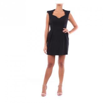 Versace A86275A222813 krótka sukienka Sukienki Czarny Dorośli Kobiety