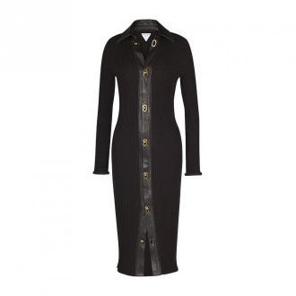 Bottega Veneta Sukienka Sukienki Brązowy Dorośli Kobiety Rozmiar: M