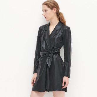 Reserved - Połyskująca sukienka - Czarny