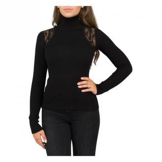 Pinko Turtleneck Swetry i bluzy Czarny Dorośli Kobiety Rozmiar: L