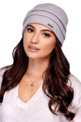 Carmen M-12 Nakrycia głowy czapka - szary