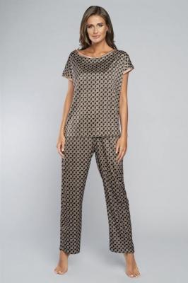 Italian Fashion Elipsa kr.r. dł.sp. Nocna piżama - druk