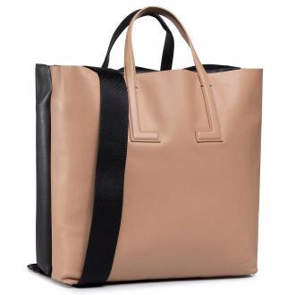 Torebka LACOSTE - Double Tote Bag NF3184TI Tobacco/Brown