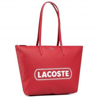 Torebka LACOSTE - L Shopping Bag NF3259SJ Badge Rouge Blanc 240