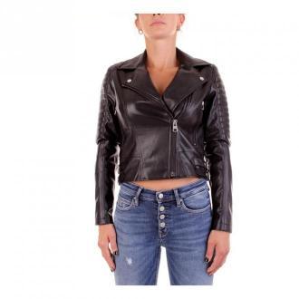 Calvin Klein Jeans J20J214185 Biker jacket Kurtki Czarny Dorośli
