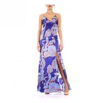 Guess 02G812-9239Z długi Sukienki Fioletowy Dorośli Kobiety Rozmiar: