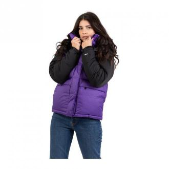 The North Face Himalayan Down jacket Kurtki Fioletowy Dorośli Kobiety
