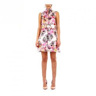 Guess 02G804-7068Z krótka sukienka Sukienki Różowy Dorośli Kobiety