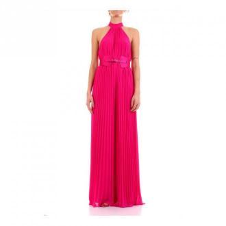 Guess długa suknia Sukienki Różowy Dorośli Kobiety Rozmiar: XS