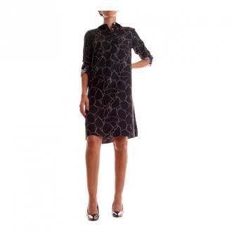Calvin Klein K20K202227 krótka sukienka Sukienki Czarny Dorośli