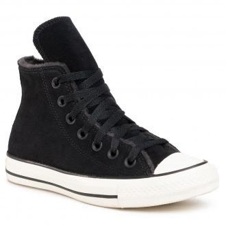Trampki CONVERSE - Ctas Hi 569399C  Black/Almost Black/Egret