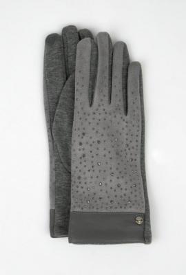 Rękawiczki z łączonych materiałów