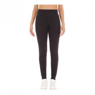 Calvin Klein Spodnie Kobieta Spodnie Czarny Dorośli Kobiety Rozmiar: