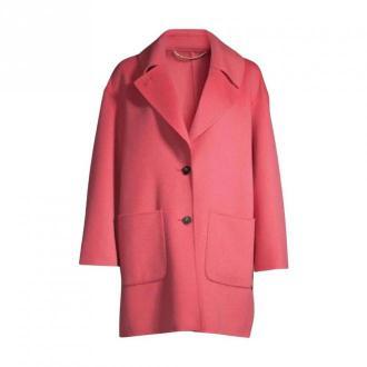 Marella Coat Płaszcze Różowy Dorośli Kobiety Rozmiar: 42 IT