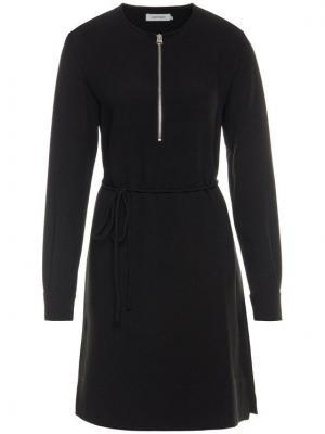 Calvin Klein Sukienka codzienna Travel Crepe K20K201542 Czarny Regular Fit