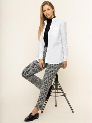 TOMMY HILFIGER Spodnie materiałowe Tedi Ankle WW0WW26499 Czarny Slim Fit